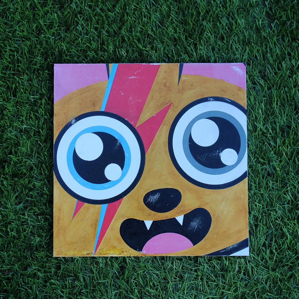 Supacat Street Art Strasbourg - Piece of SUPA Ziggy Catdust