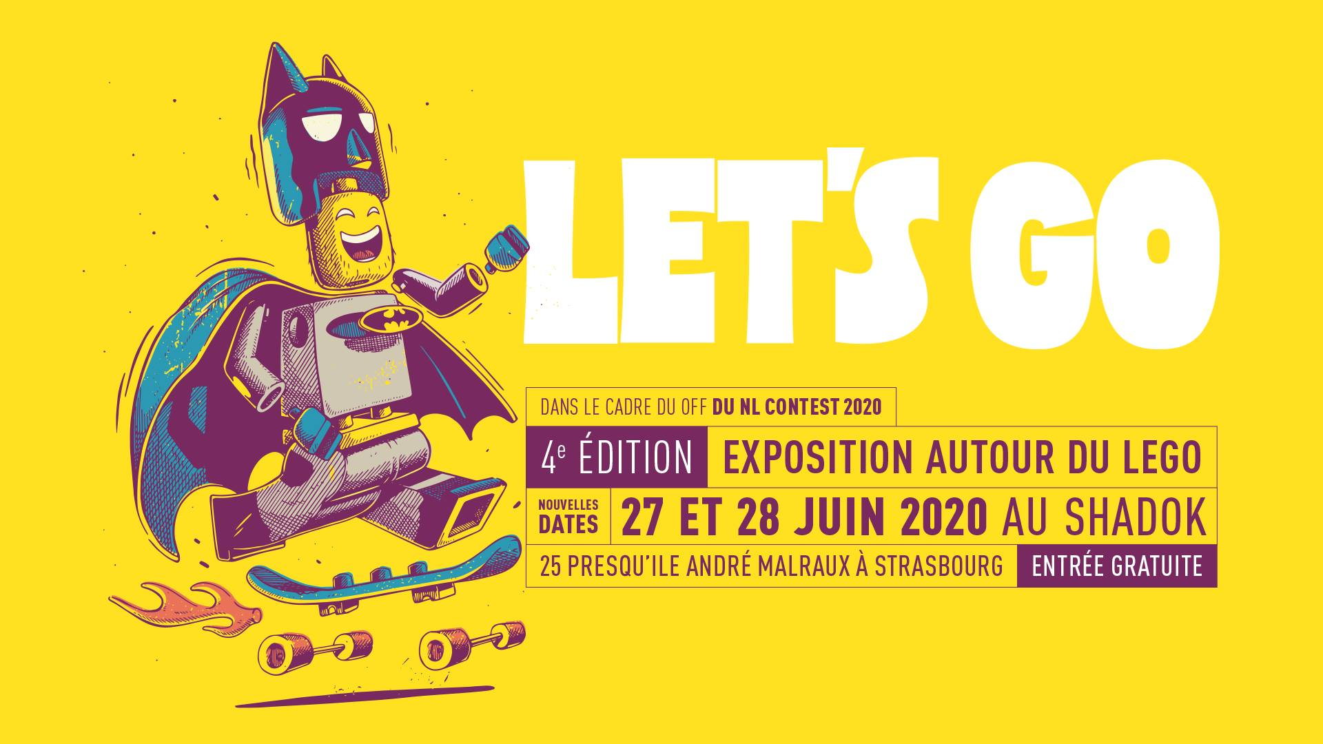 Expo Lego Let's Go - NL Contest - 2020 - Supacat, the Street Art Cat