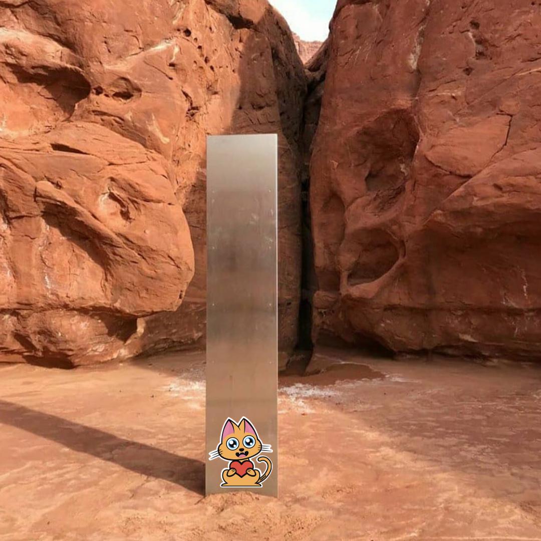 Supacat Street Art Strasbourg - Supa Monolith in Utah