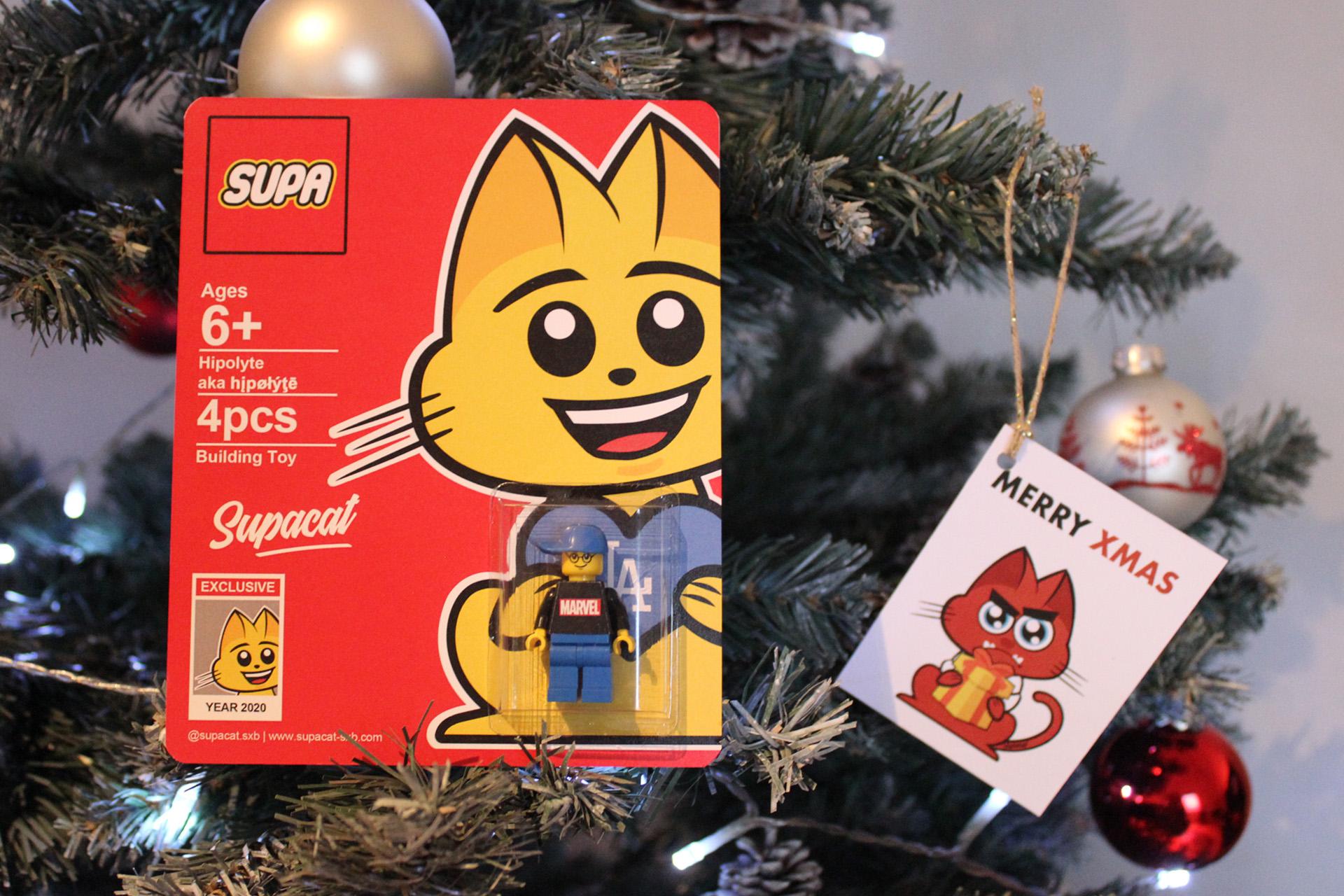 Supacat Street Art Strasbourg - Supacat Lego Figurines RCS
