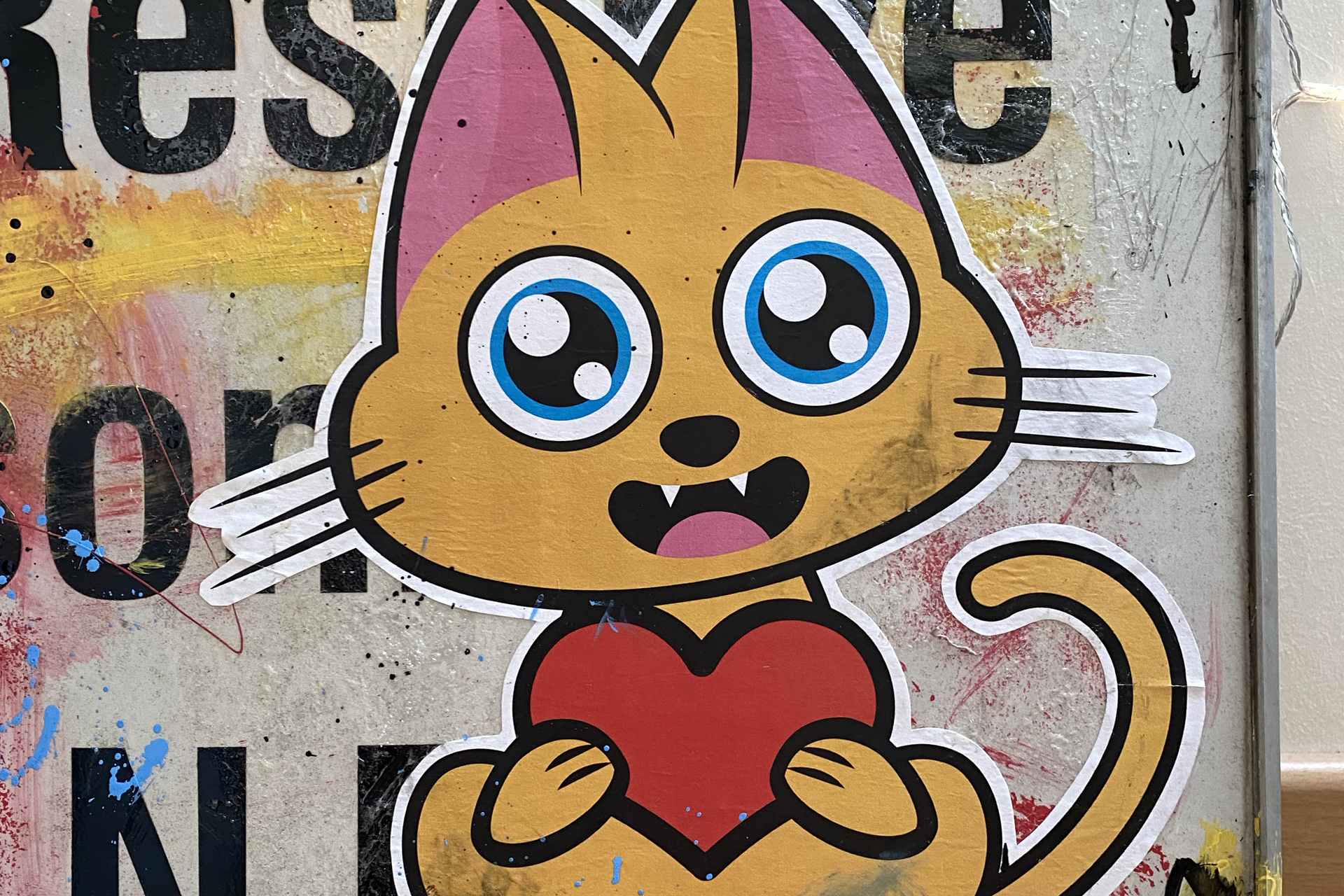 Supacat Street Art Strasbourg - Panneau Street Art from SXB