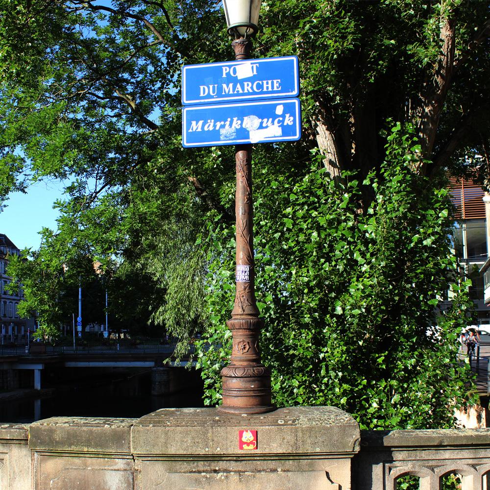 Supacat Street Art Strasbourg - Piece of SUPA Always LOVE